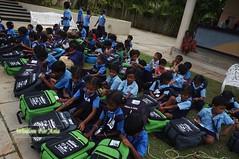 WFABTS08471 (Wisdomforasia) Tags: backpacks backtoschool wisdomforasia village children helping schoolsupplies