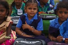 WFABTS08465 (Wisdomforasia) Tags: backpacks backtoschool wisdomforasia village children helping schoolsupplies