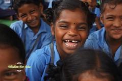 WFABTS08341 (Wisdomforasia) Tags: backpacks backtoschool wisdomforasia village children helping schoolsupplies