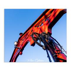 Red bridge (Paco CT) Tags: bridge cielo color construccion construction infraestructura infrastructure nonbuildingstructure obracivil puente sky colour red rojo trondheim trøndelag norway pacoct 2019