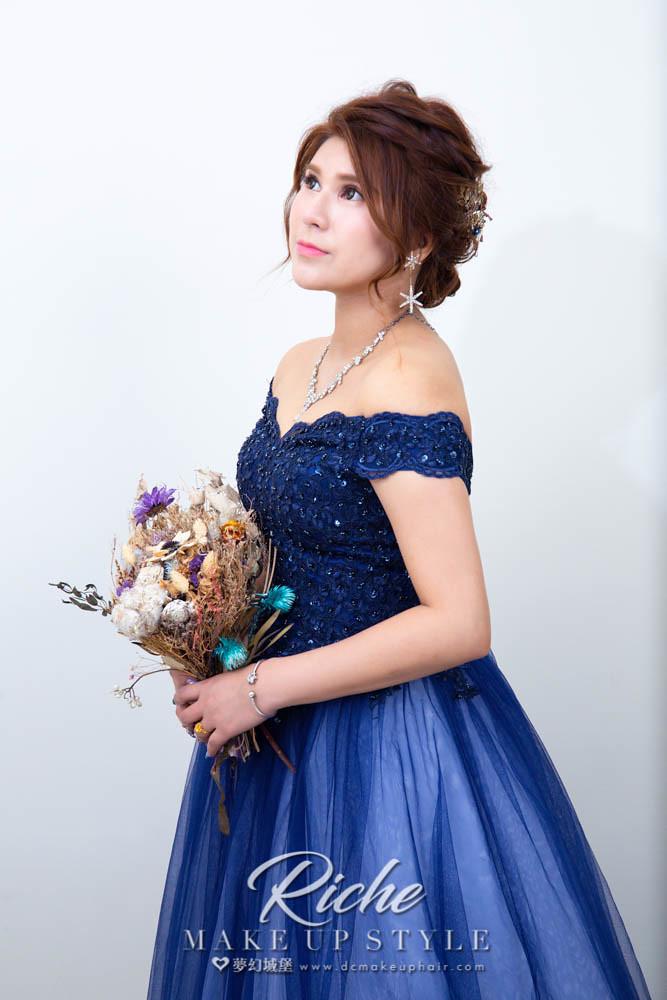 【新秘RICHE】素人改造-打造完美新娘造型