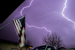 Dual Flash (Uncharted Sights) Tags: april 17th 2019 lightning thunder storm thunderstorm severe weather chase flash sky skies night long exposure canon 80d tamron 1750 commerce city denver colorado atmosphere power adventure nature