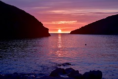 The last sunset..... (rustyruth1959) Tags: silhouette horizon rocks buoy mooring beach seascape alamy sunreflection ripples sky evening sundown celticsea atlanticocean ocean atlantic sea water headland kellanhead doydenpoint sun glow tide sunset inlet portquin portquinbeach coast northcornwall kernow cornwall england uk nikon1855mm nikond5600 nikon rock bay