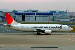 JA8523   Boeing 737-4Q3 [26603] (Japan Transocean Air) Fukuoka~JA 02/11/2005 (raybarber2) Tags: 26603 airliner airportdata cn26603 filed flickr ja8523 japanesecivil planebase raybarber rjff