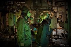 Hello (Bo Ragnarsson) Tags: gasmask youneedagasmask industrial urbanexploring radioactive biohazard boragnarsson boragnarssonphotography