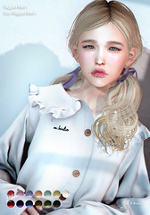 tram I0414 hair (tram (moca loup)) Tags: secondlife hair tram soiree collabor88