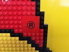 Lego Duplo glued display sign (Fantastic Brick) Tags: lego duplo display sign shop shopdisplay glued bunny giant