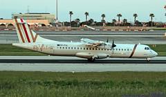 YR-FVL LMML 17-04-2019 Fly Valan ATR 72-212A(500) CN 747 (Burmarrad (Mark) Camenzuli Thank you for the 17.9) Tags: yrfvl lmml 17042019 fly valan atr 72212a500 cn 747