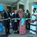 Ms Gillian Mellsop, UNICEF Representative to Ethiopia. presenting photo exhibition to H.E  Teyba Hasen