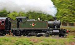 Panned Prairie (Treflyn) Tags: panned shot panning pan gwr 4575 class small prairie 262t 5541 steam north norchard dean forest railway mike tyack photo charter