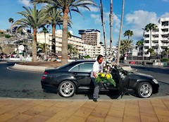Gran Canaria (denismartin) Tags: denismartin maspalomas playadelingles canaries canarias islascanarias grandecanarie grancanaria city car flowers