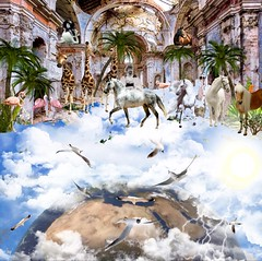 '...secret upside down Paradise above a Clouded Universe' (tishabiba) Tags: paradise clouds heaven beauty tish surreal surrealism tranquil digitalart digitalmania illusion perception conceptual artwork artphoto surreale montage peace bliss