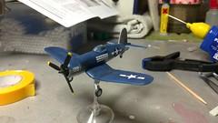 Once, this was my first model kit. (Der Henning) Tags: revell airplane minikit corsair f4u chancevought model modelkit modell bausatz flugzeug