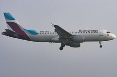 D-ABZN / Airbus A320-216 / 3080 / Eurowings (A.J. Carroll (Thanks for 1 million views!)) Tags: dabzn airbus a320216 a320200 a320 320 3080 cfm565b6p eurowings hkmp 3c4b4e london heathrow lhr egll 09l