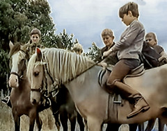 Not under control (theirhistory) Tags: boy child kid pony riding heintje tv froends boys ridingboots