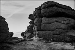 Hay Tor (FlickrDelusions) Tags: devon dartmoor hdr haytor blackandwhite landscape bw