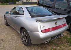 1998 Alfa Romeo GTV 2.0 V6 TB (FromKG) Tags: alfaromeo gtv 20v6tb silver car kragujevac serbia 2019