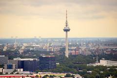 Sicht vom Dach des Großkraftwerks (svenhajna) Tags: mannheim groskraftwerk gkm mvv rhein