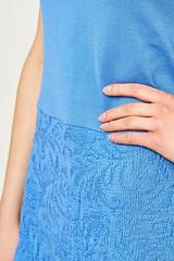 4M1A7560_sukienka_niebieska-beeanddonkey (beeanddonkey) Tags: sukienka dress beeanddonkey knitted dzianina wiosna spring lato summer bee donkey fashion moda woman kobieta madeinpoland