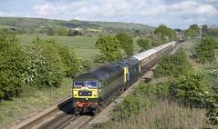 47810 & 47853 Charing Heath 11/05/2019 (Waddo's World of Railways) Tags: 47810 47853 1z87 charing kent class47 duff lsl