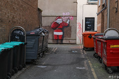 Bad Santa (Cycling-Road-Hog) Tags: blackpool candid canoneos750d citylife colour efs1855mmf3556isstm england people places street streetphotography streetportrait urban