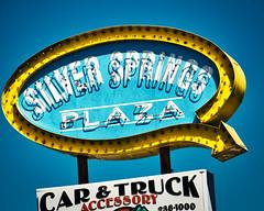 Silver Springs (Pete Zarria) Tags: florida neon signs strip mall small town tourists sun warm snow birds