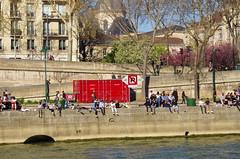 464 Paris en Mars 2019 - Quai des Célestins (paspog) Tags: paris france mars march mârz 2019 seine quaidescélestins