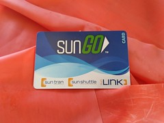 Tucson Sungo bus card (Mzuriana) Tags: tucson sungo bus publictransportation arizona