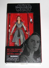 star wars the black series 6 inch action figure #44 rey jedi training the last jedi wounded right arm version variant hasbro 2017 misb 2a (tjparkside) Tags: rey jedi training wounded right arm variant version star wars black series 6 inch action figure 44 last hasbro 2017 episode eight 8 viii tlj bo staff blaster pistol lightsaber hilt blue grey luke skywalker ahchto ahch basic figures misb