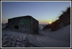 Bunker (Marco Teckenburg) Tags: lost place exploring exploration verlassene vergessen bunker dänemark sonnenuntergang atlantikwall wehrmacht weltkrieg nordsee meer strand sand