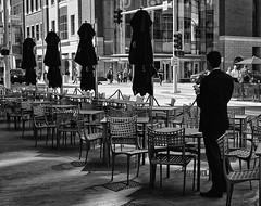 X70 (daveson47) Tags: bw blackandwhite mono monochrome people candid urban city street streetphoto fujix70 fujifilm x70 minneapolis