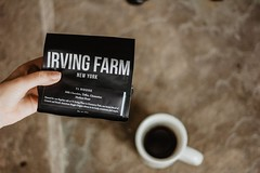 Irving Farm pack - Credit to https://myfriendscoffee.com/ (John Beans) Tags: coffee cafe coffeebeans shopbeans espresso coffeecup cup drink cappucino latte
