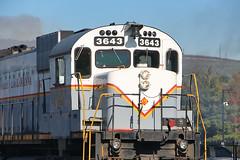 Alco pride (Bingley Hall) Tags: rail railway railroad transport train transportation trainspotting locomotive engine usa america pa pennsylvania delawarelackawanna dl alco m636c mlw scranton