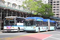 IMG_5519 (GojiMet86) Tags: mta nyc new york city bus buses 2015 2017 x345 xd60 2511 6111 m14d nis not in service 14th street irving place