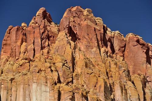 Towering Peaks of Cliff Walls (Capitol Reef National Park)