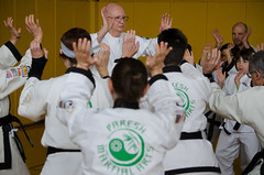 I don't recall what this is about.... (TheBurgners) Tags: tournament wtsda sanfrancisco missionhigh paresh tang soo do