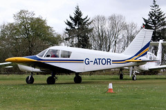 G-ATOR   Piper PA-28-140 Cherokee [28-21696] Popham~G 05/05/2013 (raybarber2) Tags: 2821696 airportdata cn2821696 eghp flickr gator planebase raybarber single ukcivil filed