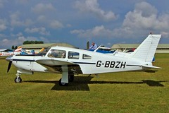 G-BBZH  Piper PA-28R-200 Cherokee Arrow ll,[28R-7435102] Kemble~G 16/08/2006 (raybarber2) Tags: 28r7435102 airportdata cn28r7435102 egbp flickr gbbzh planebase raybarber single ukcivil filed