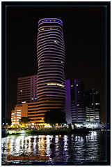 THE POINT BUILDING. GUAYAQUIL-ECUADOR. (ALBERTO CERVANTES PHOTOGRAPHY) Tags: thepointbuilding night nightescape city landscapes skyline skyscraper cityscapes noche nocturno thepoint building rioguayas guayas river lake ocean sea streetphotography retrato portrait photography reflejo reflection puertosantaana santaana republicadelecuador guayaquil ecuador gye gyeecuador ecuadorgye indoor outdoor peer port luz light color colores colors brillo brightcolors bright torre tower arquitectura architecture water nightcolor colorlight guayaquilecuador purple