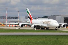 Emirates Airbus A380-842 F-WWAD (A6-EVG) (widebodies) Tags: hamburg finkenwerder xfw edhi widebody widebodies plane aircraft flughafen airport flugzeug flugzeugbilder emirates airbus a380842 fwwad a6evg