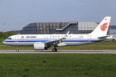 Air China Airbus A320-271N D-AXAV (B-307K) (widebodies) Tags: hamburg finkenwerder xfw edhi widebody widebodies plane aircraft flughafen airport flugzeug flugzeugbilder air china airbus a320271n daxav b307k