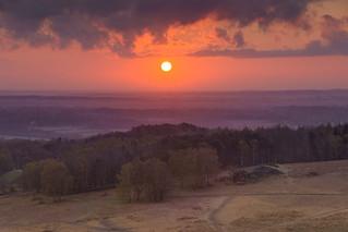 Sunrise over Sliding Stones Wood