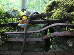 Post Apocalyptic Warrior (captain_joe) Tags: toy spielzeug 365toyproject lego minifigure minifig urlaub holiday rost rust decay