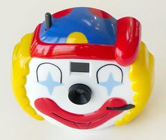 Novelty Clown Camera (pho-Tony) Tags: 110 photosofcameras toycameras clowncamera novelty clown camera toy