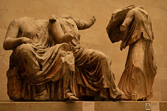 In two minds (Basse911) Tags: sculptures britishmuseum london england greatbritain uk