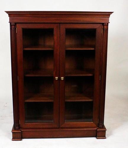 Fine Walnut 2 door Bookcase ($448.00)