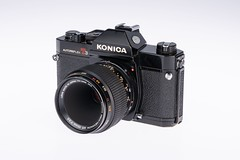 03 - 1975 Konica Autoreflex T3N (NEX69) Tags: 1975 konicaautoreflext3n black schwarz kleinbildkamerach classiccamera