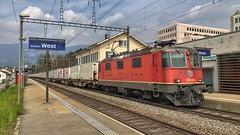 Re 420 238 (Die_Eisenbahn) Tags: sbb sbbcargo sbbc railcare re420 re420238 solothurn solothurnwest zug train schweiz switzerland