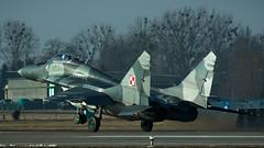 MiG-29G (kamil_olszowy) Tags: mig29g fulcrum fighter 4113 epmb malbork 22blt polish air force siły powietrzne rp smoker 912a миг29г ввс польши