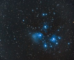Pleiades M45 (alexander_skaletz) Tags: night pleiades summer astro astrophotography nature photography astronomy dark warm galaxy sky space nightskys detail nighbor germany badenwürtemberg nikon d5300 nikond5300 sigma stars summernight longexposure himmel